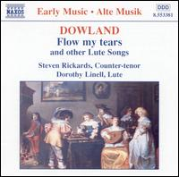 Dowland: Flow My Tears and Other Lute Songs - Dorothy Linell (lute); Steven Richards (counter tenor)
