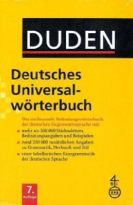 Duden Deutsches Universalworterbuch: Duden Deutsches Universalworterbuch 7th Edition -