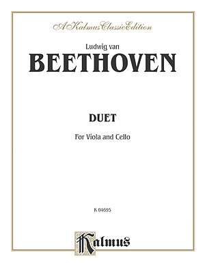 Duet for Viola and Cello - Beethoven, Ludwig Van (Composer)