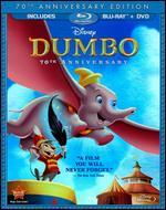 Dumbo [70th Anniversary Edition] [2 Discs] [Blu-ray/DVD] - Ben Sharpsteen; Bill Roberts; Jack Kinney; Norman Ferguson; Samuel Armstrong; Wilfred Jackson