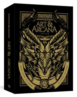Dungeons & Dragons Art & Arcana [special Edition, Boxed Book & Ephemera Set]: A Visual History - Witwer, Michael, and Newman, Kyle, and Peterson, Jon