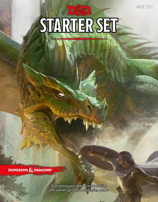 Dungeons & Dragons Starter Set (Six Dice, Five Ready-To-Play D&d Characters with Character Sheets, a Rulebook, and One Adventure): Fantasy Roleplaying Game Starter Set - Wizards RPG Team