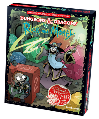 Dungeons & Dragons Vs Rick and Morty (D&d Tabletop Roleplaying Game Adventure Boxed Set) - Wizards RPG Team, and Zub, Jim