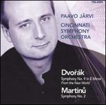 "Dvor�k: Symphony No. 9 ""From the New World""; Martinu: Symphony No. 2"
