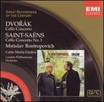 Dvorák: Cello Concerto; Saint-Saëns: Cello Concerto No. 1
