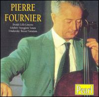 Dvorák: Cello Concerto; Schubert: 'Arpeggione' Sonata; Tchaikovsky: 'Rococo' Variations - Jean Hubeau (piano); Pierre Fournier (cello); Orchestre des Concerts Lamoureux