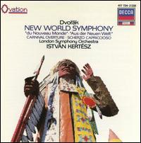 Dvorák: New World Symphony; Carnival Overture; Scherzo capriccioso - London Symphony Orchestra; Istvan Kertesz (conductor)