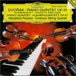 Dvorák: Piano Quintet, Op. 81; Piano Quartet, Op. 87