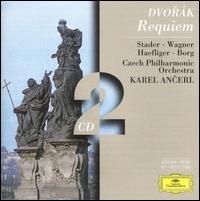 Dvorák: Requiem - Dietrich Fischer-Dieskau (baritone); Ernst Haefliger (tenor); Jörg Demus (piano); Kim Borg (bass); Maria Stader (soprano); Sieglinde Wagner (alto); Czech Chorus, Prague (choir, chorus); Czech Philharmonic Orchestra; Karel Ancerl (conductor)