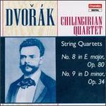 Dvorák: String Quartets Opp. 80 & 34