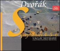 Dvor�k: Symphonies Nos. 4-6 - Czech Philharmonic Orchestra; V�clav Neumann (conductor)