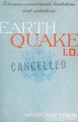 Earthquake I.D. - Domini, John