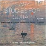 Easy Studies for Guitar, Vol. 2: Cavallone, Dodgson, Patachich, Ponce, Tansman