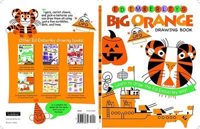Ed Emberley's Big Orange Drawing Book -