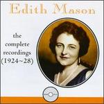 Edith Mason: Complete Recordings (1924-28)