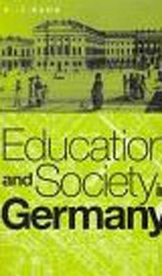 Education and Society in Germany - Hahn, H J