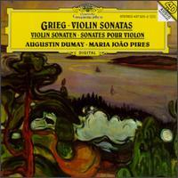 Edvard Grieg: Violin Sonatas - Augustin Dumay (violin); Maria Jo�o Pires (piano)