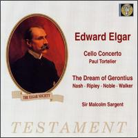 Edward Elgar: Cell Concerto, Op 85/The Dream Of Gerontius, Op 38 - Dennis Noble (baritone); Gladys Ripley (contralto); Heddle Nash (vocals); Norman Walker (bass); Paul Tortelier (cello);...