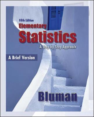 Elementary Statistics: A Brief Version - Bluman, Allan G, Professor