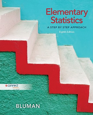 Elementary Statistics: A Step By Step Approach with Data CD and Formula Card - Bluman, Allan