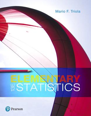 Elementary statistics book by mario f triola 27 available editions elementary statistics triola mario f fandeluxe Gallery