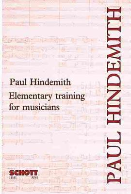 Elementary Training for Musicians - Hindemith, Paul (Composer)
