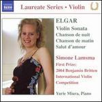 Elgar: Violin Sonata; Chanson de nuit; Chanson de matin; Salut d'amour
