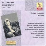 Elisabeth Schumann-Songs, Lieder & Cantatas