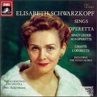 Elisabeth Schwarzkopf Sings Operetta - Elisabeth Schwarzkopf (soprano); Philharmonia Orchestra; Otto Ackermann (conductor)