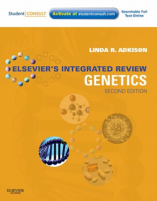 Elsevier's Integrated Review Genetics: With STUDENT CONSULT Online Access - Adkison, Linda R.