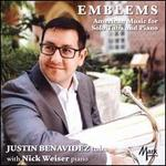 Emblems: American Music for Solo Tuba and Piano