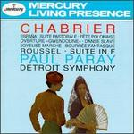 Emmanuel Chabrier: Espa�a; Suite Pastorale; F�te Polonaise; Gwendoline Overture; Danse Slave; etc.