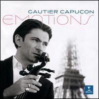 Emotions - Gautier Capuçon (cello); Jérôme Ducros (piano); La Maitrise de Notre Dame; Orchestre de Chambre de Paris; Adrien Perruchon (conductor)