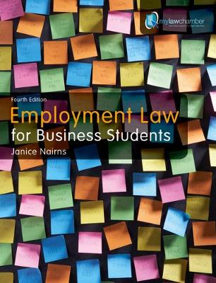 Employment Law for Business Students - Nairns, Janice