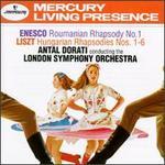 Enesco: Roumanian Rhapsody No. 1; Liszt: Hungarian Rhapsodies Nos. 1-6 - London Symphony Orchestra