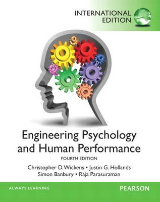 engineering psychology  human performance book  christopher  wickens