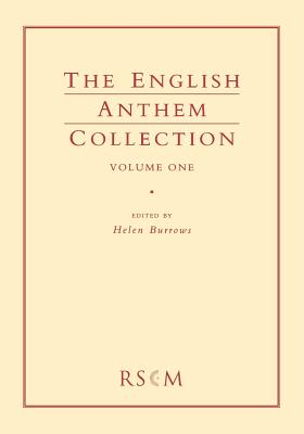 English Anthem Collection Volume 1 - Burrows, Helen (Editor)