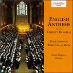 English Anthems From Christ's Hospital
