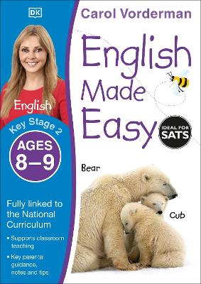 English Made Easy Ages 8-9 Key Stage 2 - Vorderman, Carol