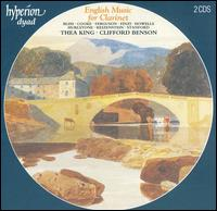 English Music for Clarinet - Clifford Benson (piano); Thea King (clarinet)