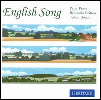 English Song - Benjamin Britten (piano); Julian Bream (lute); Peter Pears (tenor)