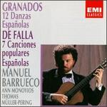 Enrique Granados: 12 Danzas Españolas; Manuel de Falla: 7 Canciones populares Españolas