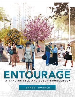 Entourage: A Tracing File and Color Sourcebook - Burden, Ernest