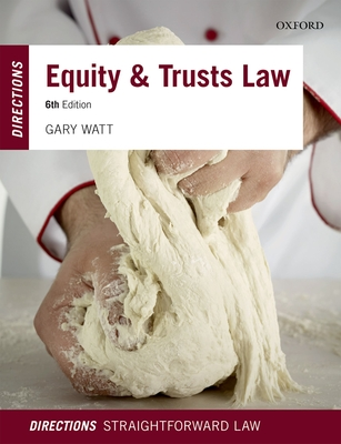 Equity & Trusts Law Directions - Watt, Gary