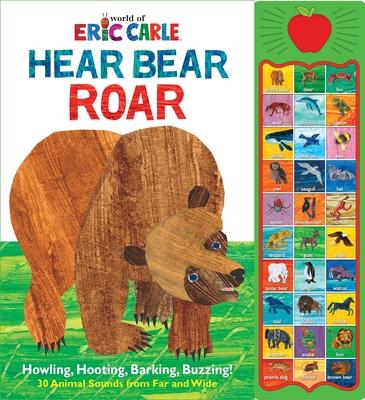 Eric Carle: Hear Bear Roar - Wagner, Veronica, and Gray Robbins, Leslie (Narrator)