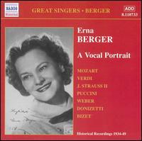 Erna Berger: A Vocal Portrait - Erna Berger (vocals)