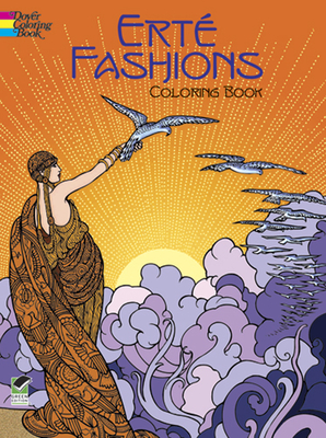 Erte Fashions Coloring Book - Erte