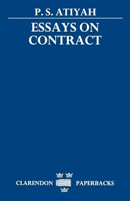 Essays on Contract - Atiyah, Patrick S