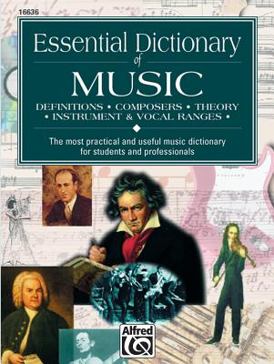 Essential Dictionary of Music: Pocket Size Book - Harnsberger, L C