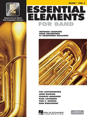 Essential Elements for Band Avec Eei: Vol. 1 - Basse (Bass Clef) - Hal Leonard Corp (Creator)
